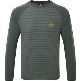 Mountain Equipment Redline Bluzka z długim rękawem Mężczyźni, moor stripe/moorland